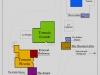 Kart over gården på engelsk. klikk neste for italiensk versjon.