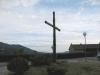Korset på fjellovergangen mellom kommunenen Chitignano og Sarna.