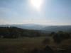 Blåner så langt øyet kan se, typisk for landskapet i Chitignano og Valle Casentino.