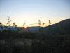 Solnedgang i Chitgnano.